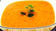 Recette: Crème de tomates et poireaux. Thai Red Curry, Ethnic Recipes, Food, Gazpacho, Drinks, Cooking Food, Most Popular Recipes, Eten, Meals