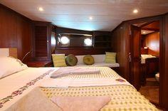 Luxury FREYA - Motor sailer Check more at https://eastmedyachting.co.uk/yachts/freya-motor-sailer/