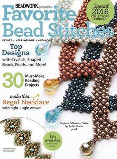 Favorite Bead Stitches, 2016 Digital Edition