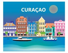 Curacao is available in an array of finishes, materials, and sizes, this retro inspired wall art will make Curacao feel close to your heart with its bright color palette and unique design. You can sta