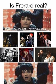 frerard is my otp, but in my opinion, i think it was real at some point, in like 2001-2007 but honestly, I don't think so anymore.