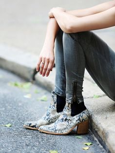 Jeffery Campbell New Frontier Boots