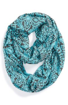 POVERTY FLATS by rian 'Sardinian Breakfast' Crinkle Infinity Scarf available at #Nordstrom