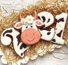 Kawaii Cookies, Farm Cookies, Cupcake Cookies, Fondant Cupcakes, Christmas Cookies Gift, Christmas Cupcakes, Sugar Cookie Icing, Sugar Cookies, New Years Cookies