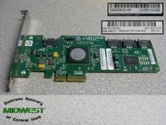 LSI Logic SAS3041E HP 4 Port SAS SATA RAID Card | eBay