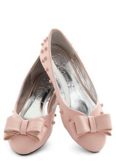 Witty in Pink Flat, #ModCloth