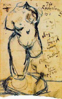 Vincent van Gogh: Torso of Venus, Paris: 1887 (Amsterdam, Van Gogh Museum) F 1716r, JH 1073