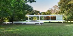 Mies van der Rohe's Farnsworth House is one of the most iconic buildings in the history of Modernist architecture.