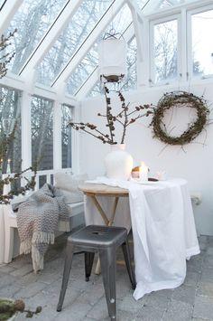Noël blanc dans une maison centenaire - PLANETE DECO a homes world