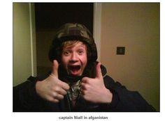 Also pre-1D anti-terrorist officer Niall Horan...