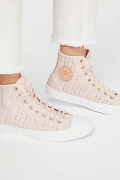 Woven Hi Top Chuck | Free People