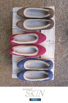 Belle e colorate, sono le #ballerine #secondskin!