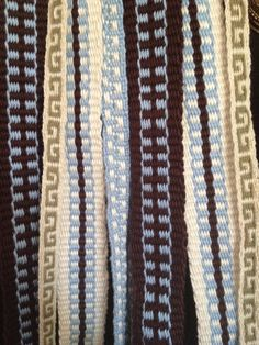 My first inkle weavings. by Michelle Russell