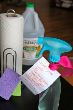 Eco Friendly Organic Surface Cleaner- only 3 ingredients!