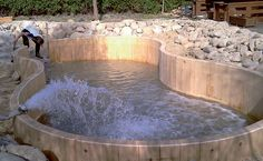 BIOFERMENTA:  natural pool filter that allows a smaller regeneration area