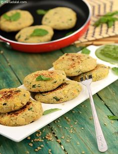 Here is a heart-friendly, low-cholesterol variant of tikkis made with fibre and protein rich ingredients like soya and chickpeas.