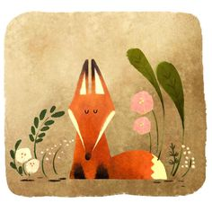 Fuchs Illustration, Cute Illustration, Fuchs Tattoo, Fox Drawing, Crafty Fox, Foxes Photography, Fox Tattoo, Fox Art, Cute Fox