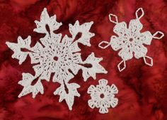 Three Flakes in One!   Lots of snowflake patterns on www.snowcatcher.net