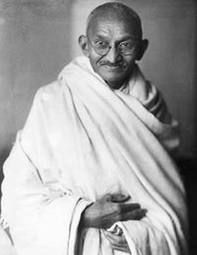 Mahatma Gandhi- He was the pre-eminent leader of Indian nationalism in British-ruled India. Employing non-violent civil disobedience, Gandhi led India to independence and inspired movements for non-violence, civil rights and freedom across the world. Important People, Good People, Inspiring People, Amazing People, Normal People, Special People, Mahatma Gandhi Quotes, Famous Faces, Change The World