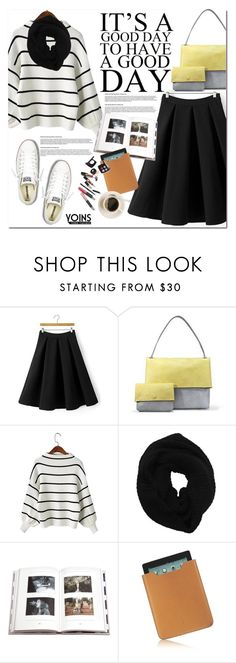 """Yoins.com"" by oshint ❤ liked on Polyvore featuring Wyatt, Penguin Group, Acqua di Parma, Chanel, Converse and yoins"