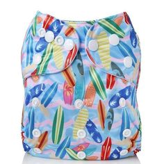 Colorful Cloth Diaper Waterproof design RD8 Wash Cloth Diapers, Cloth Nappies, Cloth Diaper Covers, Fox Baby, Washing Clothes, Baby Care, Drawstring Backpack, Cartoon, Pocket