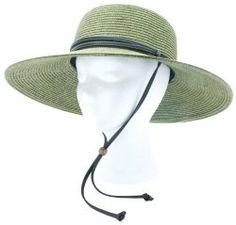 Sloggers Women's Wide Brim Braided Sun Hat