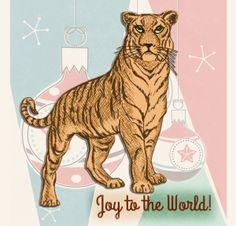 Holiday Tiger | by China Rose