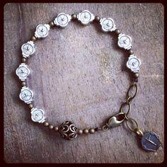 HOLY SPIRIT Chaplet Bracelet by rosarium on Etsy