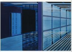 "Saatchi Online Artist: Cécile van Hanja; Oil, 2002, Painting ""Beachhouse"""