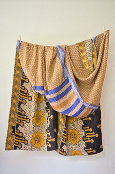Hand and Cloth Fresh Pressed No. 92 - Coverlet #kantha #textile #blanket #bedroom #style #interiors