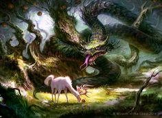 Snake of the Golden Grove by guterrez.deviantart.com on @deviantART