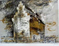 "John Piper artist . 'Willington Dovecote, Bedfordshire' edition of 120. 26""x21"" signed lower right numbered lower left £2,800 great provenance Private collection"