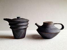 村上 奨 ブログ  sho murakami works: 急須 pot   醤油さし soy sauce cruet