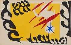 Henri Matisse, designer. French, 1869-1954. The Nightmare of the White Elephant (Le Cauchemar de l'éléphant blanc)