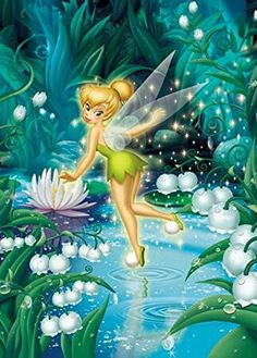 TinkerBell puzzle by Tenyo Tinkerbell And Friends, Tinkerbell Disney, Peter Pan And Tinkerbell, Tinkerbell Fairies, Peter Pan Disney, Disney Fairies, Tinkerbell Pictures, Fairies Photos, Disney Pictures
