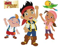 Ethan. Anything to do with these guys he'd love! Jake and the Never Land Pirates | Disney Junior