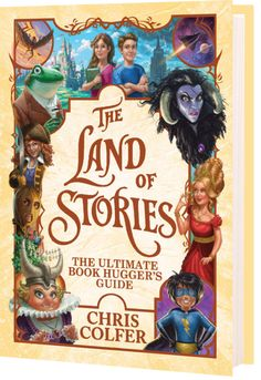 """Read """"The Land of Stories: The Ultimate Book Hugger's Guide"""" by Chris Colfer available from Rakuten Kobo. Discover the ultimate Land of Stories guidebook with this behind-the-scenes, comprehensive look at the New York Times. Fanart, Land Of Stories Series, Book Series, Chris Colfer Books, Good Books, Books To Read, Free Books Online, Audio Books, Landing"""