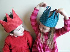 crown Pretend & dressup fabric crowns pretend play by spaghettis, $28.00