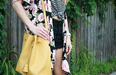 Floral and stripes. Meghan Conard/MC squared.