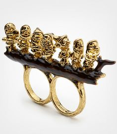 seven dwarfs ring. For those who could never choose between Sneezy, Dopey and Sleepy.