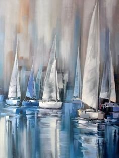 Regatta At Dawn Painting 5 cm by Lucia Amitra Name Regatta At Dawn Painter Lucia Amitra Size 36 8242 x 48 8242 90 x 120 cm Style Rea Regatta At Dawn Painting 5 cm by Lucia Amitra Name Regatta At Dawn Painter Lucia Amitra Size nbsp hellip Painting realism Painting Videos, Painting Techniques, Painting Tips, Oil Painting Abstract, Watercolor Paintings, Wood Painting Art, Sailboat Painting, Ship Paintings, Boat Art
