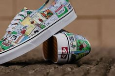 vans strip on