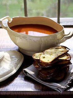 Tomato Soup Recipes, Fondue, Cheese, Ethnic Recipes, Tomato Soup