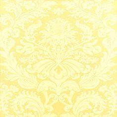 Thibaut Terrazzo Damask Yellow T1785