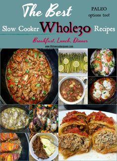 Slow Cooker / Instant Pot Rezepte - Whole 30 Diet - Crockpot Whole 30 Crockpot Recipes, Whole 30 Recipes, Paleo Recipes, Slow Cooker Recipe Book, Slow Cooker Recipes, Whole 30 Diet, Paleo Whole 30, Whole30, Instant Pot