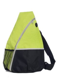 Light Weight Sling Backpack Sports Bag Lime Green *** Read more reviews of the product by visiting the link on the image. (This is an affiliate link) #MultipurposeDaypacks