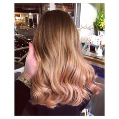In love with this I used with creating a heavy application of product to get the lift! I used with 9 vol finished with 😍 Sorbet, Hair Color, It Is Finished, Hairstyles, Long Hair Styles, Pink, Beauty, Hair Cuts, Haircolor