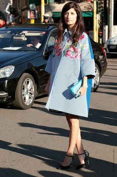 In the Street...Azzurro...For vogue.it...Celeste / Baby Blue #4