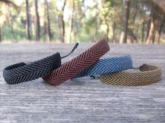 Macrame men's bracelet