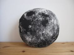 Plush Moon Pillow by shannonbroder on Etsy, $20.00